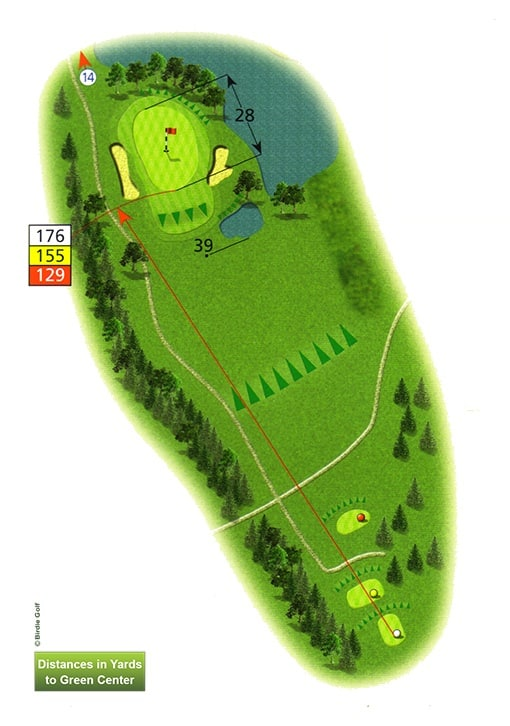 Course Planner Hole 13