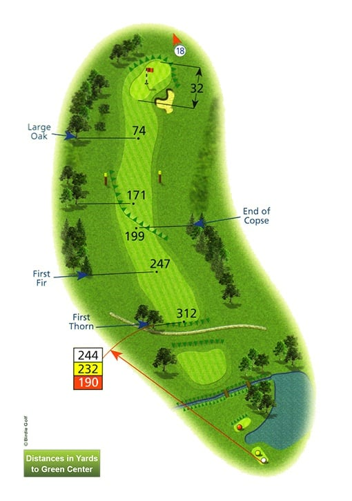 Course Planner Hole 17