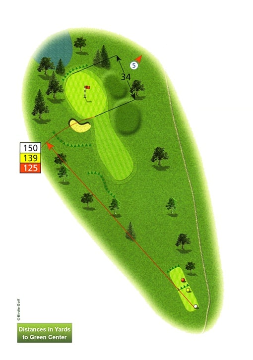 Course Planner Hole 4