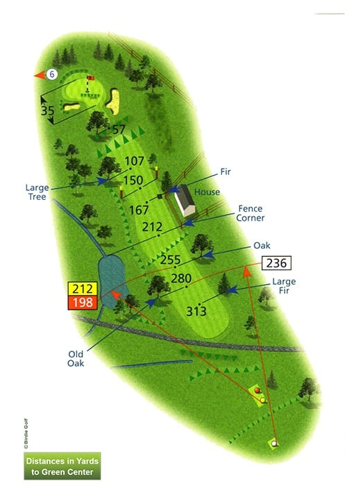 Course Planner Hole 5