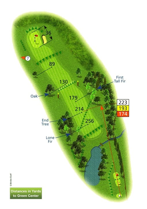 Course Planner Hole 6