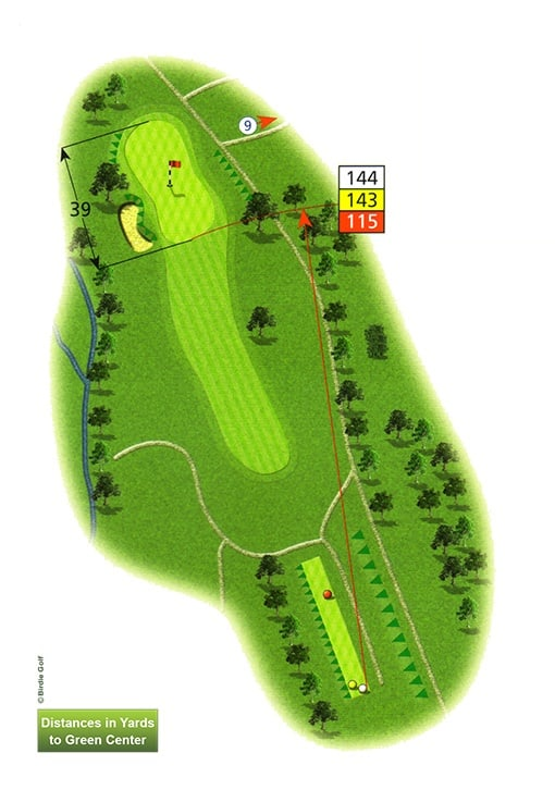 Course Planner Hole 8