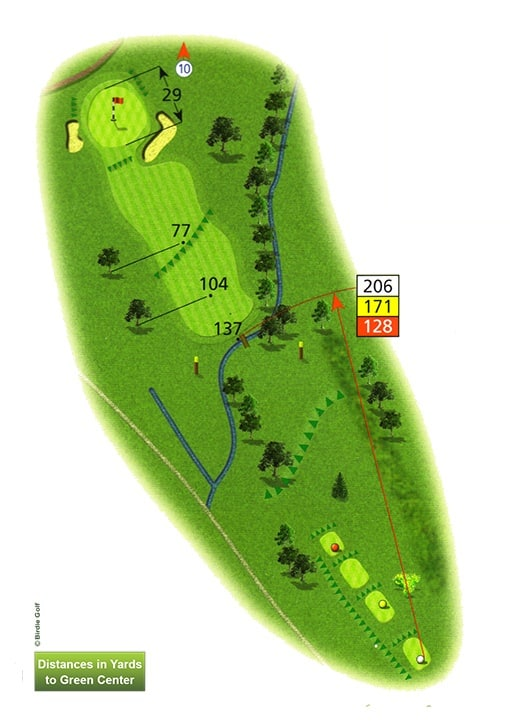 Course Planner Hole 9